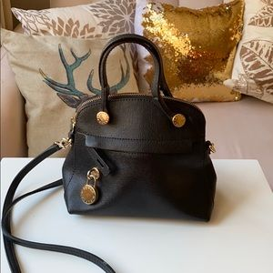 Furla crossbody mini black bag